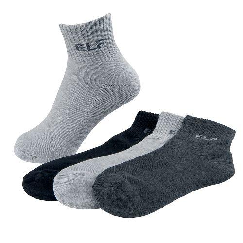 三合豐 ELF, 男性運動襪, 竹炭1/2短統氣墊...
