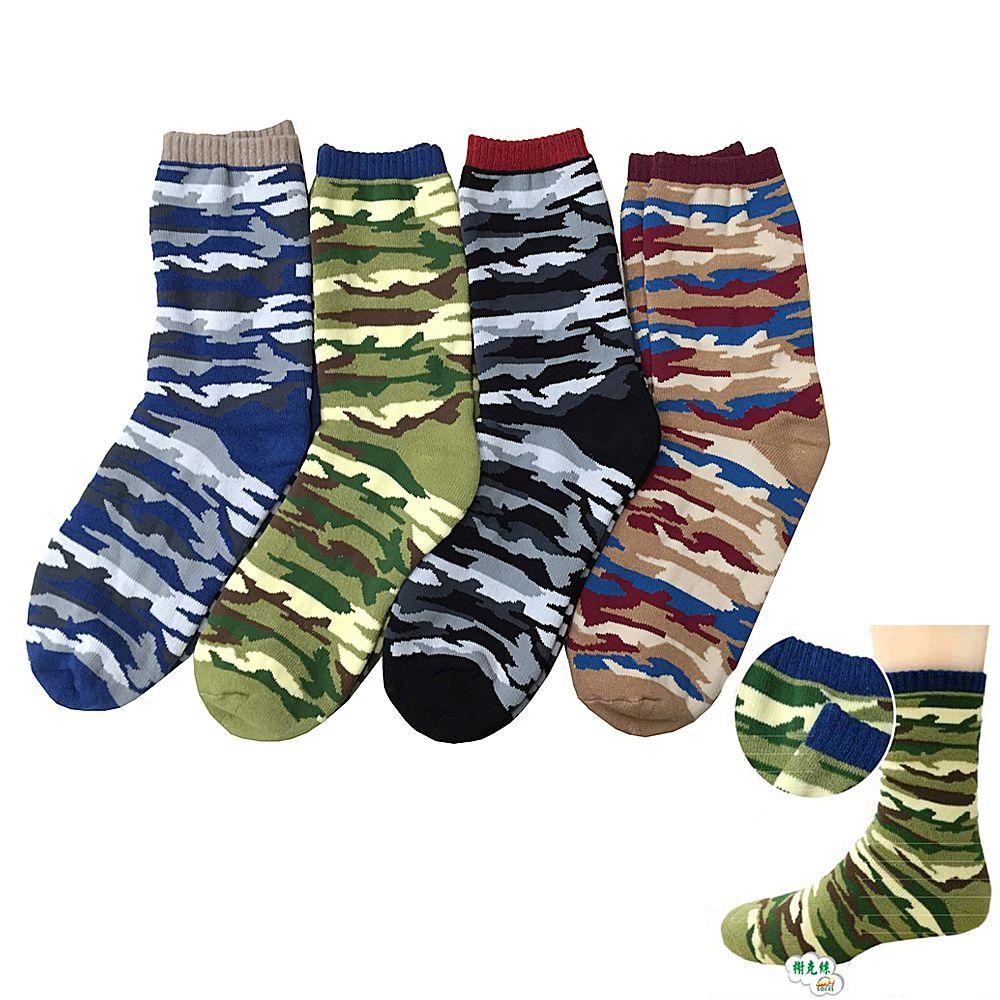 [最後出清] 榭克絲 R-Joy, 短襪/休閒襪, 迷彩提花全毛巾底棉質 款