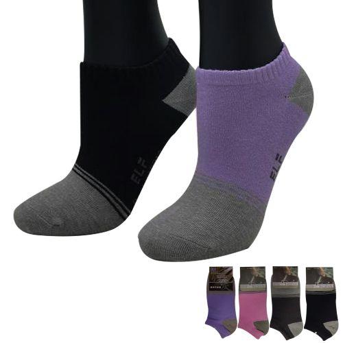三合豐 ELF, 船襪, 竹炭彩色造型除臭健康 款