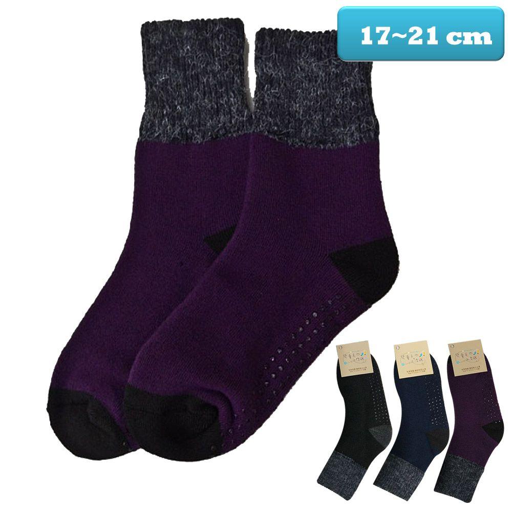 本之豐, 兒童毛襪, 短統保暖禦寒毛巾厚底止滑 款