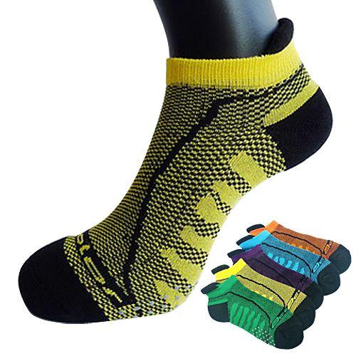 三合豐 Acolor, 運動襪/運動船襪, 竹炭透...