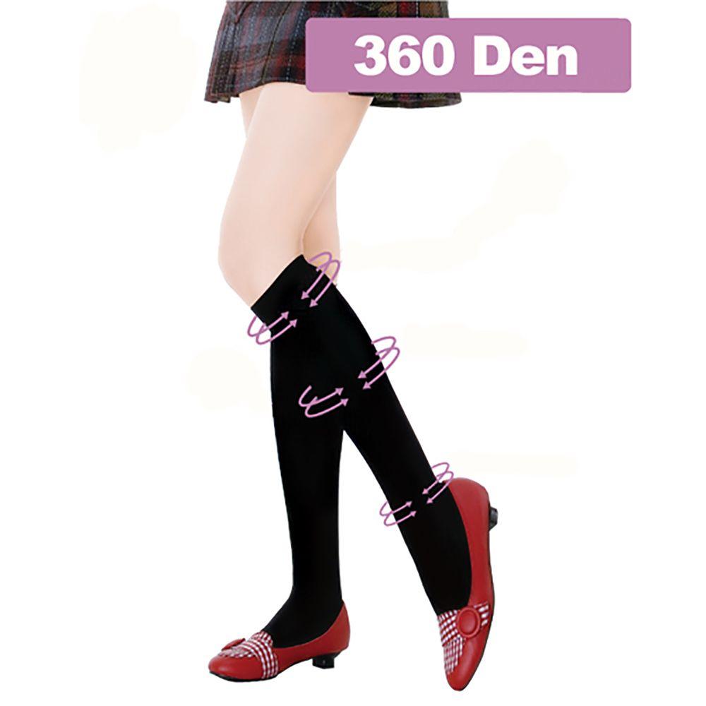 足護士 Foot Nurse, 中統彈性襪, 360丹素色舒適 款