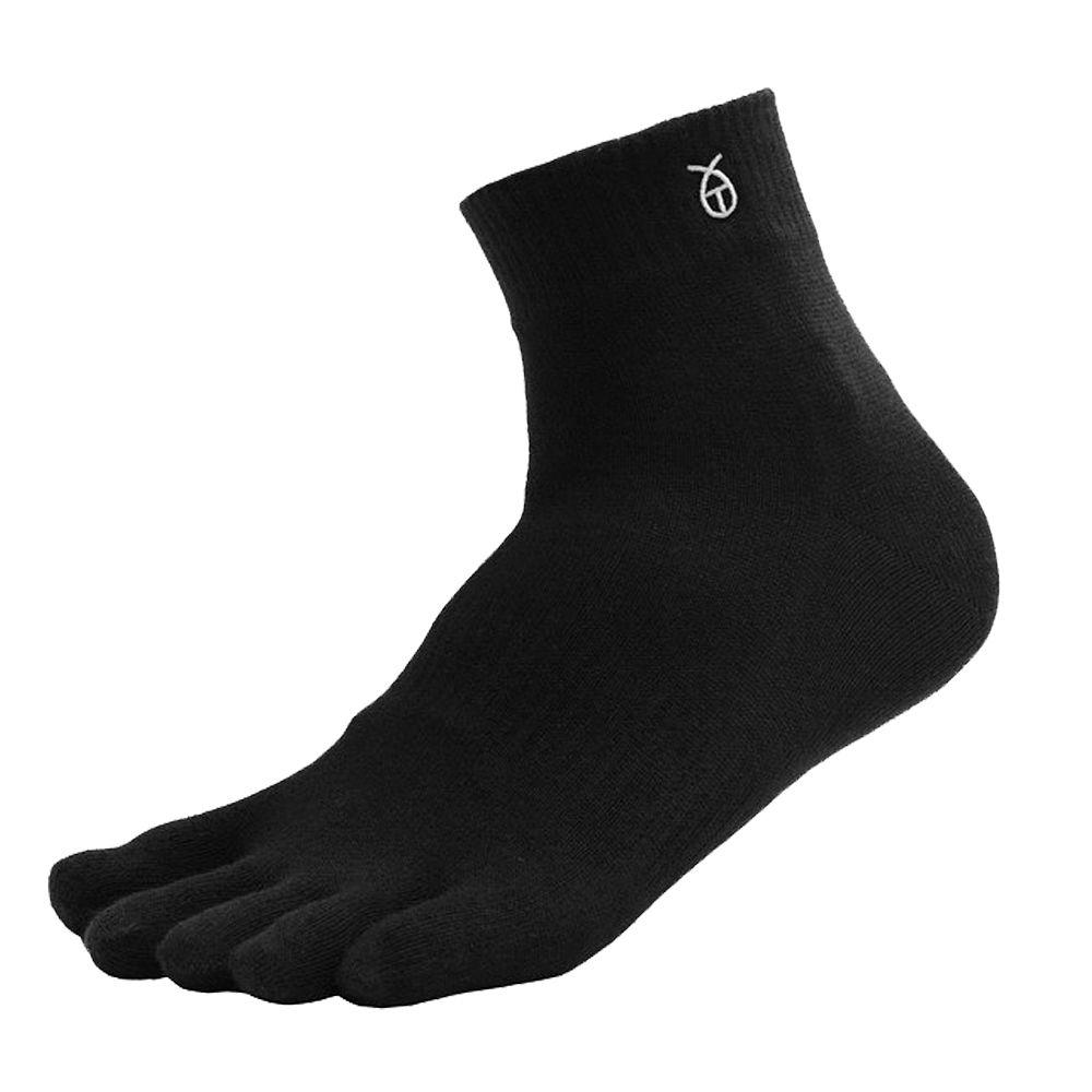 雪夫 CHAFER, 五趾襪, 短統竹炭銀絹除臭 款