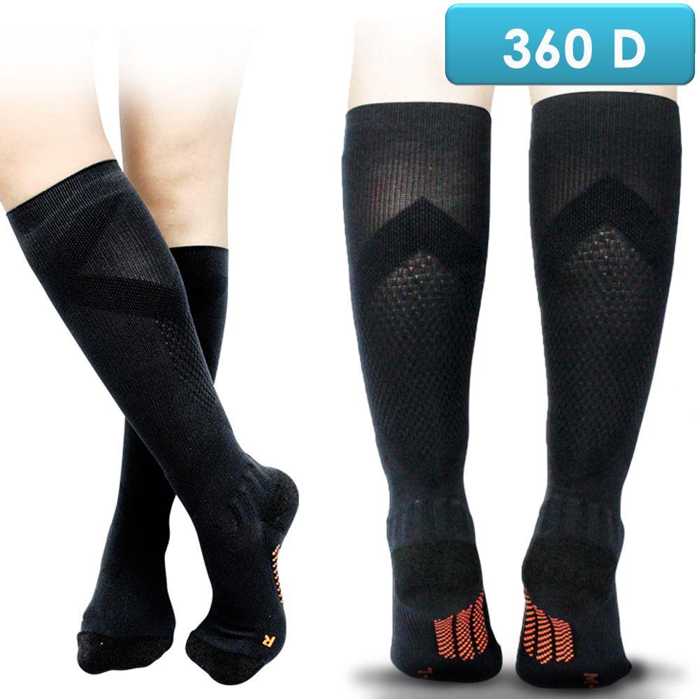 足護士 Foot Nurse, 小腿/半統彈性襪, 360丹阿基里斯腱雙向衡定足弓支撐漸進壓力 款